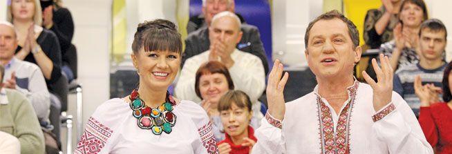 Постійні ведучі Антолій Гнатюк і Ольга Гриневич