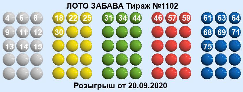 Тираж 1102