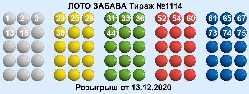 Тираж 1114