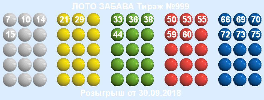 Тираж 999